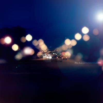 вечерний джем ночь трафик дорога огни