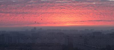 *** Утро город