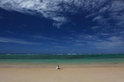 Игра небо облака океан цвет мозамбик пляж замок песок синева