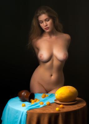 Натюрморт с Натальей.