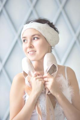 *** балерина балет пуанты белый лебедь