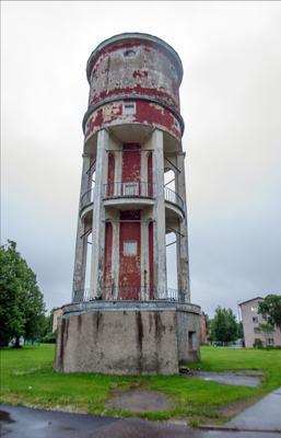 Водонапорка Эстония Кохтла-Ярве водонапорная_башня