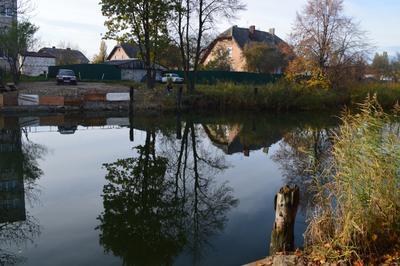 Рыбалка не отходя от дома...)))) канал плотва лещи.....