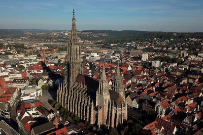 Ульмский собор Германия Deutschland Баден-Вюртемберг Baden-Württemberg Ульм Ulm