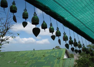 музыка волн... ветер, колокольчики, Тайланд