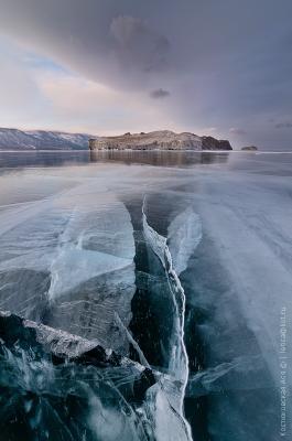 Структура Байкал лед