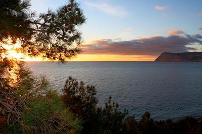 Январский закат аязьма балаклава море закат