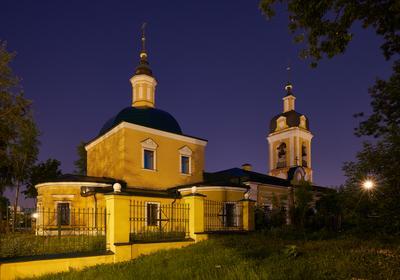 Храм Сорока Севастийских Мучеников Храм Сорока Севастийских Мучеников Москва ночь лето
