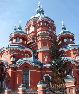Храм Казанской иконы Божьей Матери церковь, Иркутск