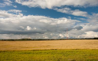 Поле поле, небо, конец лета