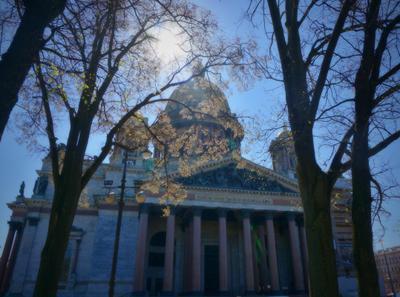 Приход весны в Санкт Петербург