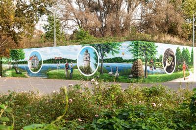 Граффити Город улица граффити