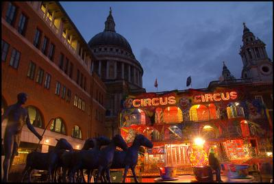 Цирк лондон музей цирк