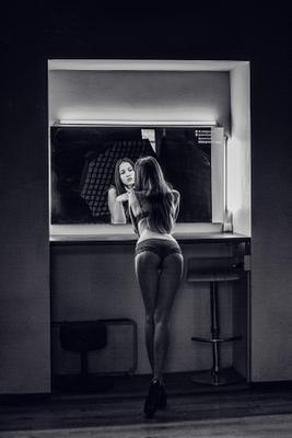 Даша девушка студия портрет