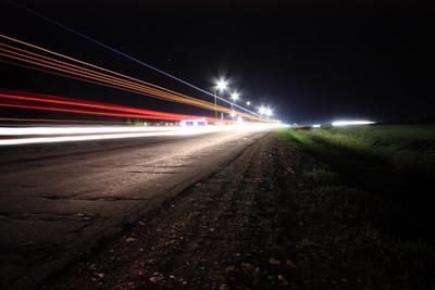 *** полосы ночь