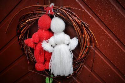 Мартинки мартинки дверь выборг культура традиции праздник весна рукоделие март мартынки европа город