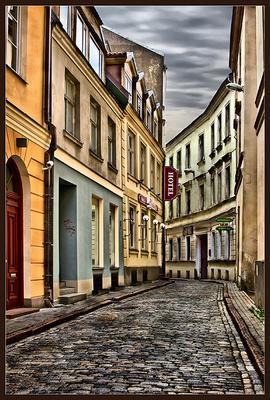 HOTEL Рига город улица