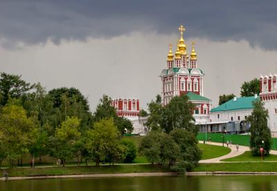 Новодевичий монастырь, г.Москва Москва монастырь архитектура