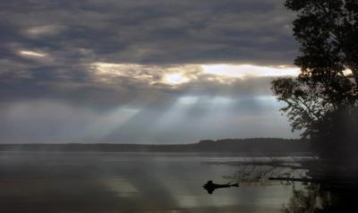 Утро туманное, утро... Волга