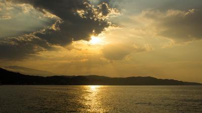 Утро Море солнце утро восход