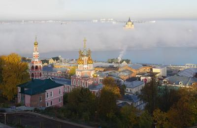 Туман в Нижнем Новгороде