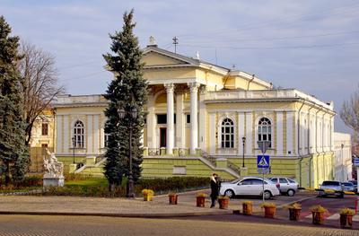 Одесский археологический музей архитектура город достопримечательность здание музей одесса