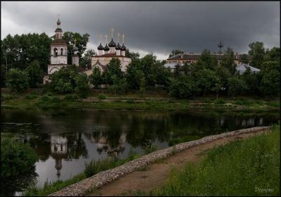 Перед грозой Вологда