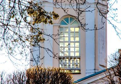 """Любите ли вы заглядывать в окна?:) Витебск окна """"каланча"""""""