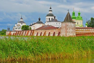 Кирилло-Белозерский монастырь русский север