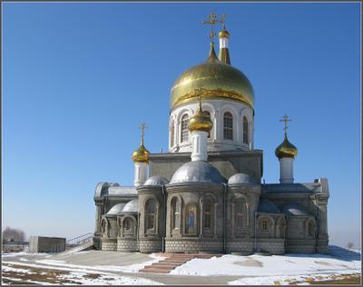 Волжский. Храм апостола и евангелиста Иоанна Богослова