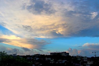После дождя небо облака севастополь
