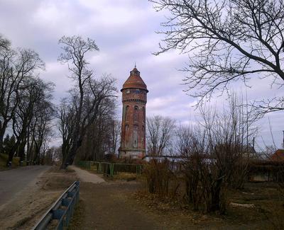 Водонапорная башня Фишхаузена..Столетний юбилей...!!!!!! 100 лет водонапорная башня