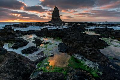 The dark knight rises australia victoria mornington peninsula cape shcanck pulpit rock sunrise