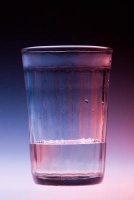 один стакан стакан, свет, студия, вспышка импульсная