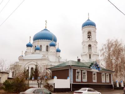Успенский собор в Бийске.
