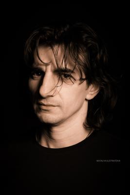 Мужской портрет портрет мужчина студия Армавир