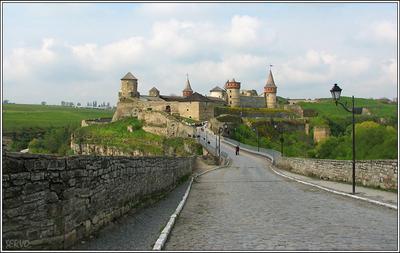 Каменец-Подольский, крепость крепость замок каменец