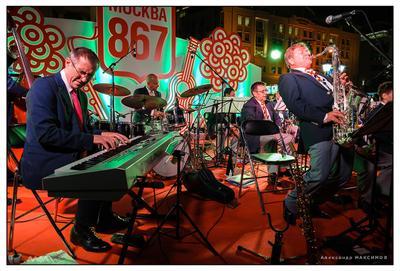 *** Москва день города концерт джаз оркестр Игорь Бутман праздник