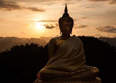 В поисках просветления 2 будда, просветеление, закат