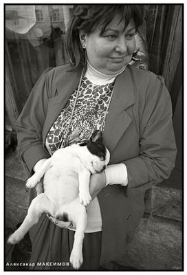 Дама с собачкой (перепост) Собачка