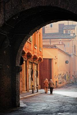 Бабушки - подружки Италия Болонья