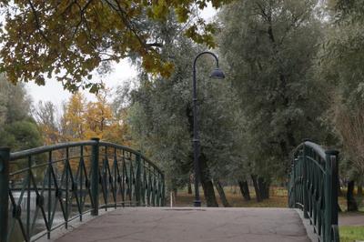 Одинокий фонарь Город парк городской пейзаж фонарь