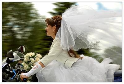 Поехали.. невеста, мото