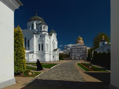 Спасо-Евфросиниевский женский монастырь храм религия путешествия история архитектура