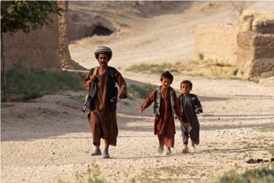 Защитники кишлака. Афганистан. Афганистан поселок война дети восток оружие защитник
