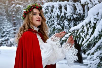Зимняя сказка зима сказка снег