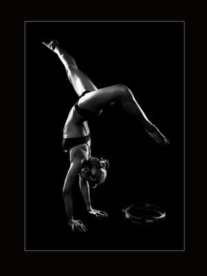 Pilates in black