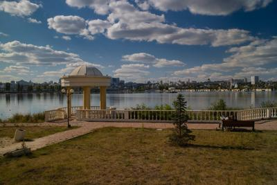 Набережная Водохранилище набережная беседка Воронеж