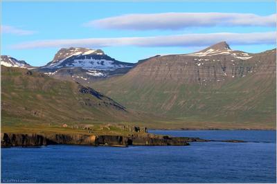 Подходим мы как-то к Исландии... Ислаандия, Ísland, Сейдисфьордюр, Seyðisfjörður, Norrøna,