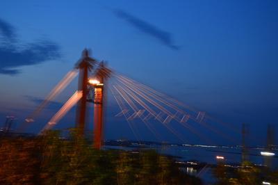 Вечерний мост мост вечер ночь фонари город пейзаж
